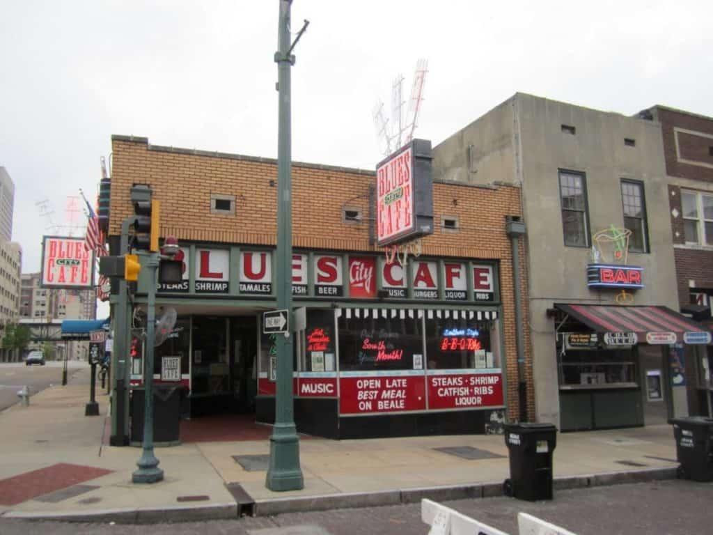 Blues City Cafe Menu