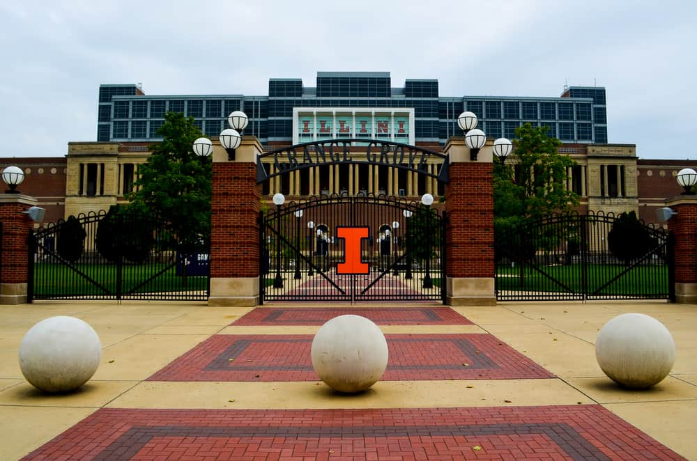 University of Illinois Memorial Stadium